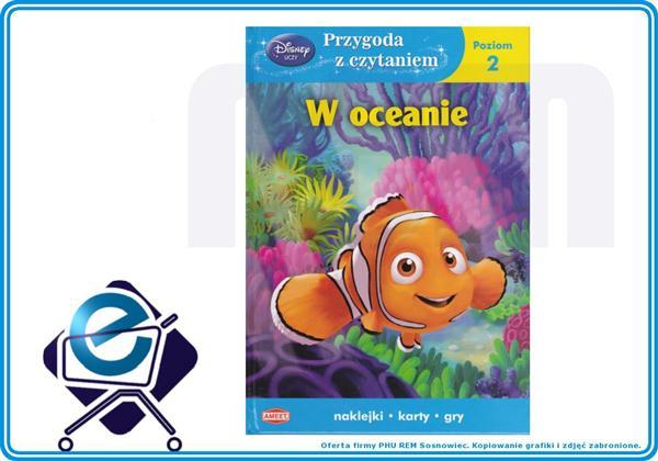 DISNEY Przygoda z czytaniem  W OCEANIE (UDC2) +3L