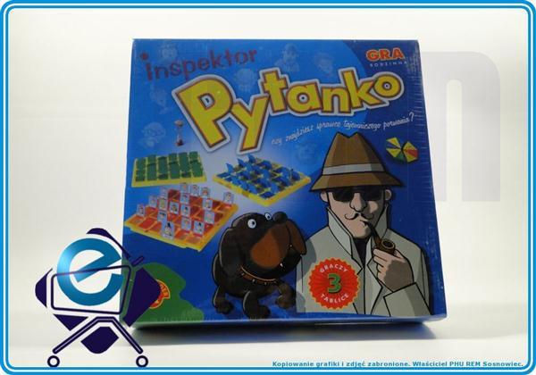 Zgadnij kto to Inspektor (detektyw) PYTANKO +5L
