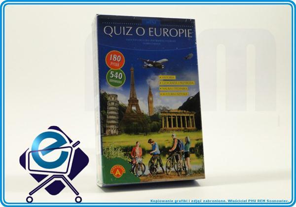 QUIZ O EUROPIE mini 180pytań 540odpowiedzi +10L