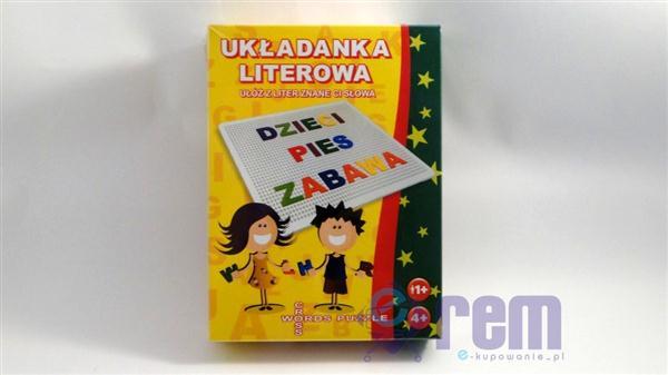 CROSSWORDS PUZZLE - literkowa układanka +4L