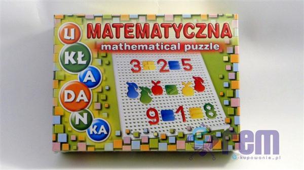 Matematyczna układanka Mathematical Puzzle +4L