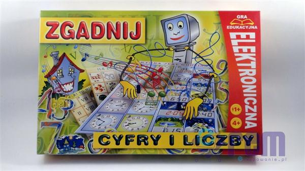 GRA zgadnij CYFRY i LICZBY edukacja elektron. PL