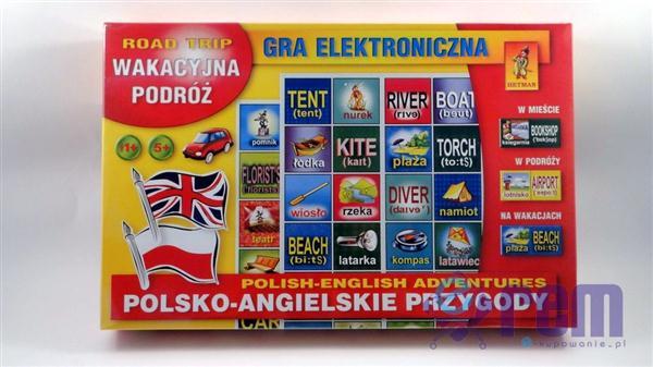 gra POLISH-ENGLISH ADVENTURES - ROAD TRIP edu +4L