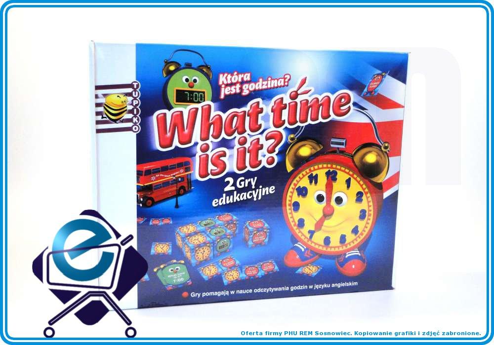 DWIE GRY: Która jest godzina? What time is it? +6L